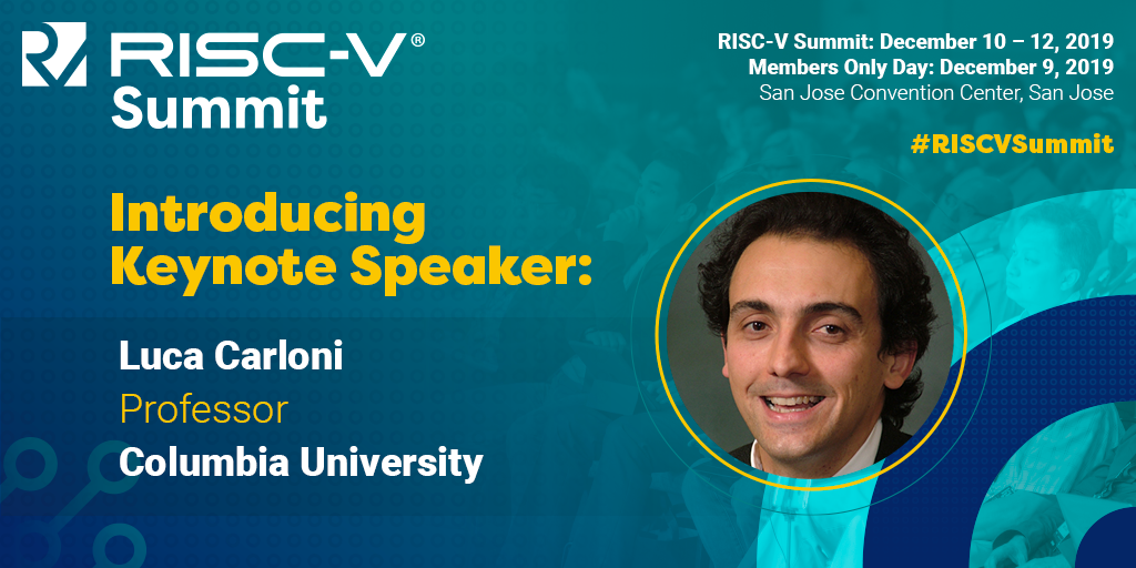 Upcoming talk on ESP at the RISC-V Summit